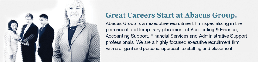 Great Careers Start at Abacus | Professional Recruitment & Temporary ...