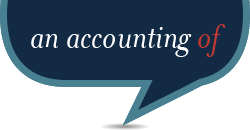 An accounting of