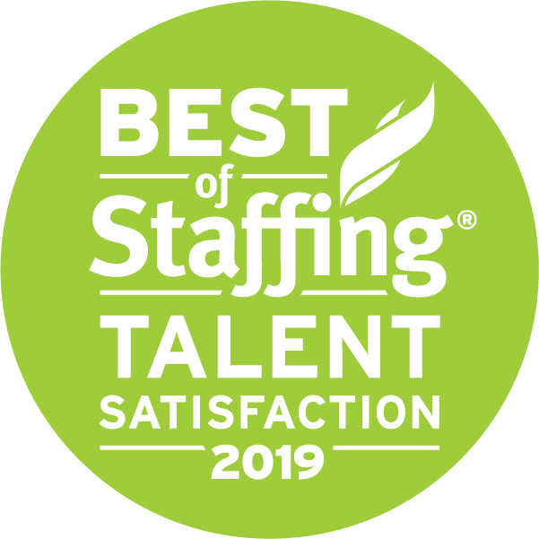 Best of Staffing Talent Satisfaction 2019