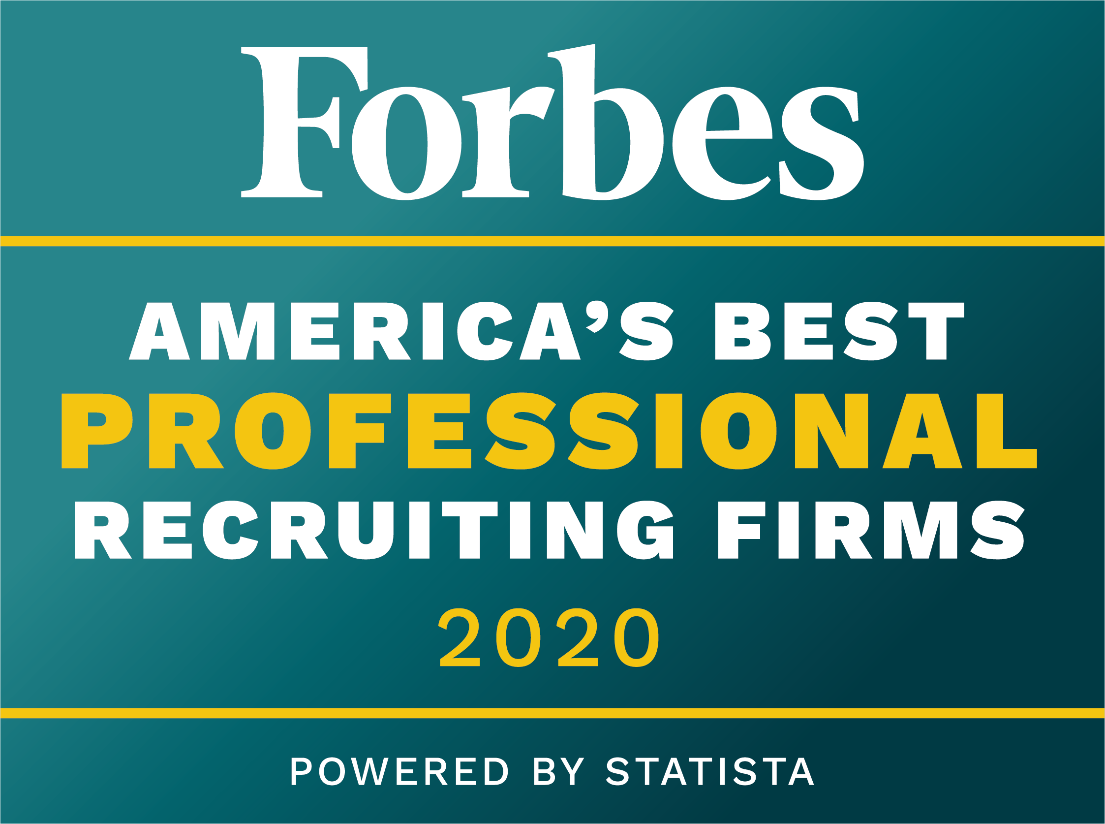 Forbes Best Professional Recruiting Firms 2020