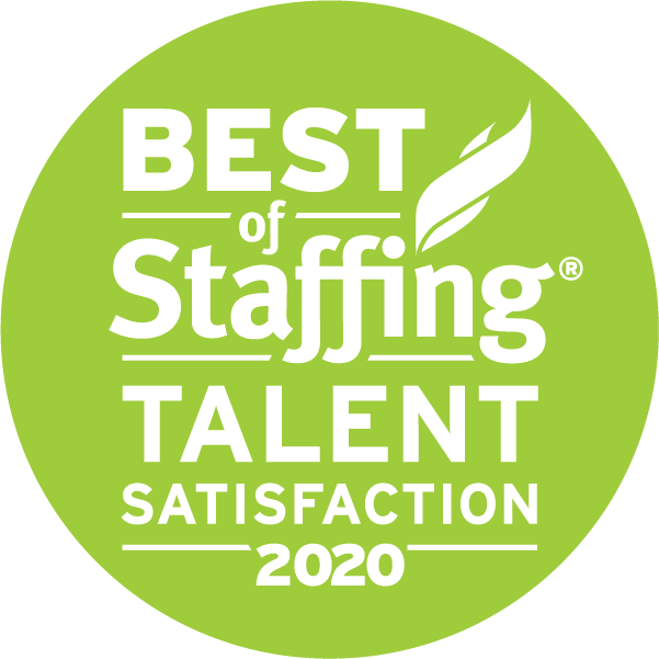 Best of Staffing Talent Satisfaction 2020